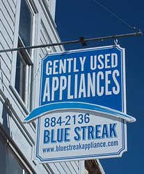 Blue Streak Bayfield Co. used appliances